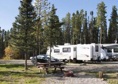 Stay at our peaceful RV Park, spacious sites and wooded area